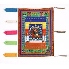 Banner Tibetan Buddhist Prayer Flag King Gesar Dharma Wind Horse Scripture Flag