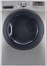 Lg SteamDryer Series Dlgx3571V 27 Inch Gas Dryer with TrueSteam Graphite Steel