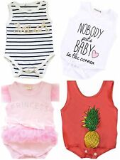 Baby Toddler Cute Funny Word Bodysuits Novelty Gift