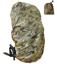 Army Combat Military Rucksack Cover Dry Pack Waterproof All Purpose Camo Large