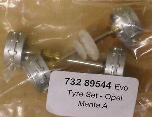CARRERA EVO 1/32 89544 FRONT & REAR AXLE SET - OPEL MANTA A (QTY 5) - NEW