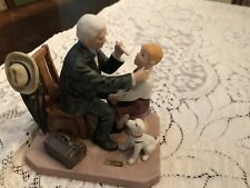 """Norman Rockwell� Vintage 1981 ""The Country Doctor"" Figurine"