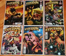 Hyperion #1-6 complete by Chuck Wendig and Nik Virella, Marvel Comics