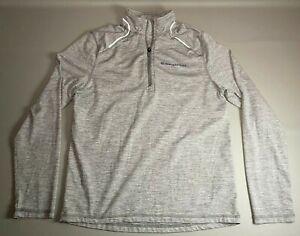 Vineyard Vines Performance Long Sleeve Jacket 1/4 Zip Boys Size L (16) CLEAN !!