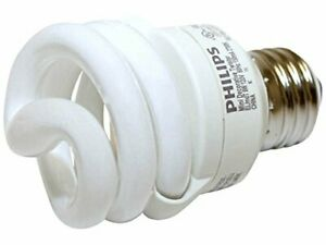 41399-6 13W Philips Energy Saver Screw-In Compact Fluorescent CFL Bulb