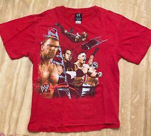 Triple H John Cena WWE VINTAGE Wrestling Shirt YOUTH 10/12