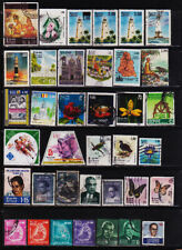 SRI LANKA  98 USED STAMPS COLLECTION LOT