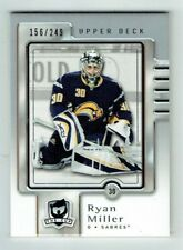 06-07 UD Upper Deck The Cup  Ryan Miller  /249  THN All-Time Top 100 Goalie