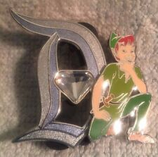 DISNEY TRADING PIN - 60TH DIAMOND D WITH PETER PAN