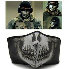 Punk Skull Neoprene Ski Skate Snowboard Motorcycle Protection Half Face Mask