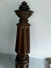 Large & exceptional antique staircase NEWEL POST Vintage architectural Victorian