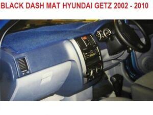 DASH MAT, BLACK DASHMAT, DASHBOARD COVER FIT  HYUNDAI GETZ 2002 - 2010, BLACK