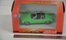 21 ) Schuco Junior Line 331 5081 Porsche 914-6 1970 grün - Metal Cars - 1:43