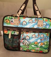 LeSportsac Tokidoki NEW With Tags Computer/Travel Bag Trenino Foresta