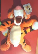 a Disney Easter Tigger Mini Bean Bag Beanie w/tags Winnie the Pooh Basket Eggs