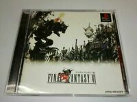 PS FINAL FANTASY VI FF 6 Japan PlayStation 1 PS1