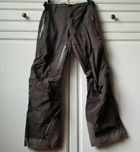 Helly Hansen Helly Tech Performane Snow Ski Snowboard Pants RECCO Brown Womens S