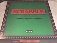 "BIG BOXED "" SCRABBLE DELUXE WITH ELECTRONIC TIMER"