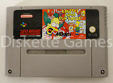 KRUSTY'S FUN HOUSE - SUPER NINTENDO SNES - PAL ESPAÑA - KRUSTY KRUSTYS FUNHOUSE