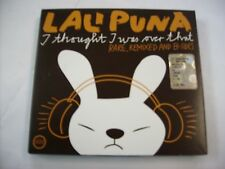 LALI PUNA - I THOUGHT I WAS OVER THAT - 2CD LIKE NEW CONDITION 2005