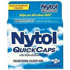 Nytol Nighttime Sleep-Aid, Caplets - 32 ea (3 Pack)  + Tweezer