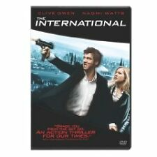 The International, Naomi Watts, Armin Mueller-Stahl, Clive Owen [NEW], DVD