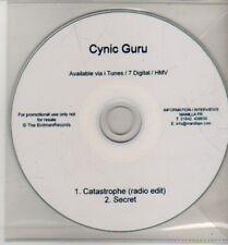 (CJ242) Cynic Guru, Catastrophe / Secret - DJ CD