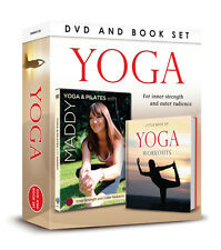 YOGA & PILATES WITH MADDY -  YOGA & PILATES DVD & LITTLE BOOK OF YOGA WORKOUTS