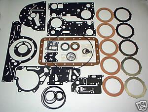 1948-1954 Buick Dynaflow Automatic Transmission Rebuilding Kit