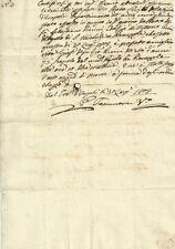 Empoli Dipartimento dell'Arno Regnante Napoleone - Certificato di Morte 1808
