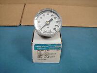 "Ashcroft 20W1005H02B Used 2"" Pressure Gauge"