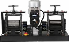 PepeTools Ultra Power Electric Double Flat and Wire Rolling Mill 130mm USA MADE