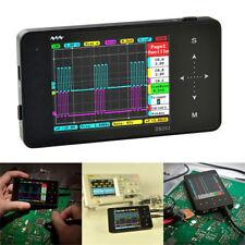 Mini DS202 Portable Mini Handheld Digital Storage Oscilloscope Black V8H5 Tools
