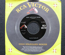 """7"""" Elvis Presley - Baby Let's Play House - USA RCA Gold Standard"""