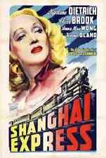 Shanghai Express 01 Film A3 Poster Print Poster