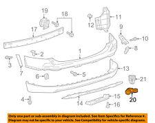 TOYOTA OEM 17-18 RAV4 Front Bumper Grille Grill-Park Sensor 8934142060C0