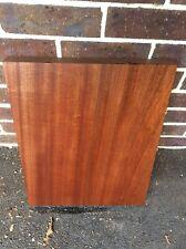 Sapele Mahogany Guitar Body Blank 1 Piece High Grade Luthier. Timber #1