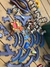 Vintage Tomy Tomica Train 46 Parts Model Train Tracks and Parts