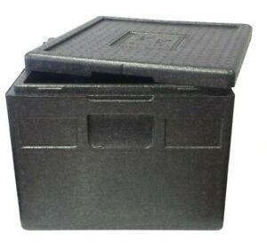 Thermobox 41 x 41 x 18 cm 14 Liter Kühlbox Transportbox Pizzabox EPP
