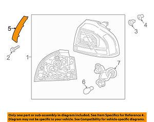 KIA OEM 17-18 Niro Tail Lamp-Flange Left 92430G5100