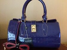 GORGEOUS Authentic ARCADIA Handbag satchel crossbody Leather Made in Italy NWT