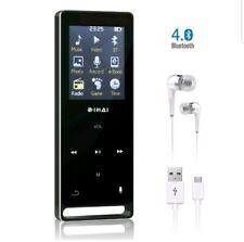 BIHAI 16GB Bluetooth MP3 Player Portable Music Player FM Radio Voice Recorder
