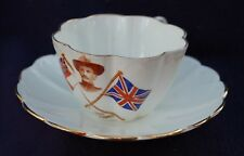 1900 - Baden Powell - Tea Cup & Saucer - Boy Scout - Boer War - Mafeking