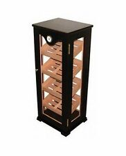 Quality Importers - Huge Glass Cigar Display Cabinet Humidor 100CT - Display 7