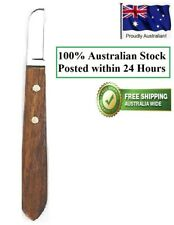 Plaster knife Small Wooden Handle Dental Orthodontic Dental Lab Steel knife