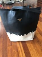 Prada Shoulder Tote Bag Leather