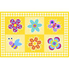 """Fun Rugs Olive Kids Collection Flowerland Area Rug 39"""" x 58"""""""