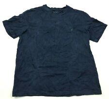 Nautica Sleepshirt Shirt Size Medium M Navy Blue Short Sleeve Tee Pj Pajamas Men