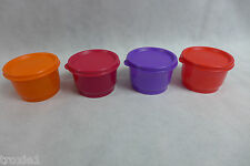 Tupperware  Snack Cups  New Be Dazzled Lot of 4  4 oz/120 mL Sparkle! New