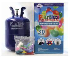 Jumbo Helium 30 X Balloons Bulk Kit Balloon Time Gas Tank Bottle Inflater Ribbon